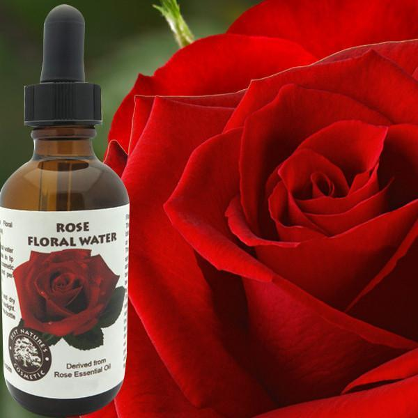 Rose Floral Water (Hydroflorate or Hydrosol) - Heavenly Skin HQ