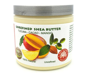 Shea Cocoa Tucuma Mango Butter Blend 4oz / 120ml - Heavenly Skin HQ