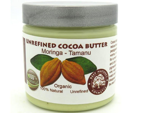 Unrefined Cocoa Moringa Tamanu Oils Blend 4oz / 120 ml - Heavenly Skin HQ