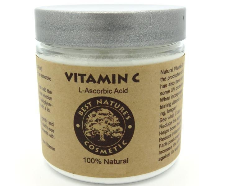 Vitamin C Powder (L-Ascorbic Acid) Natural - Heavenly Skin HQ