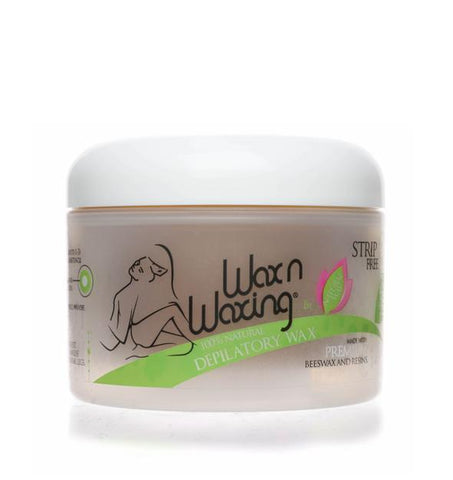Wax n Waxing Depilatory Hard Wax Hair Removal - Microwaveable - Original Formula - Heavenly Skin HQ