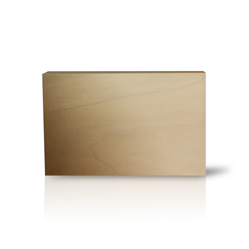 Medium Rectangle Wood Block