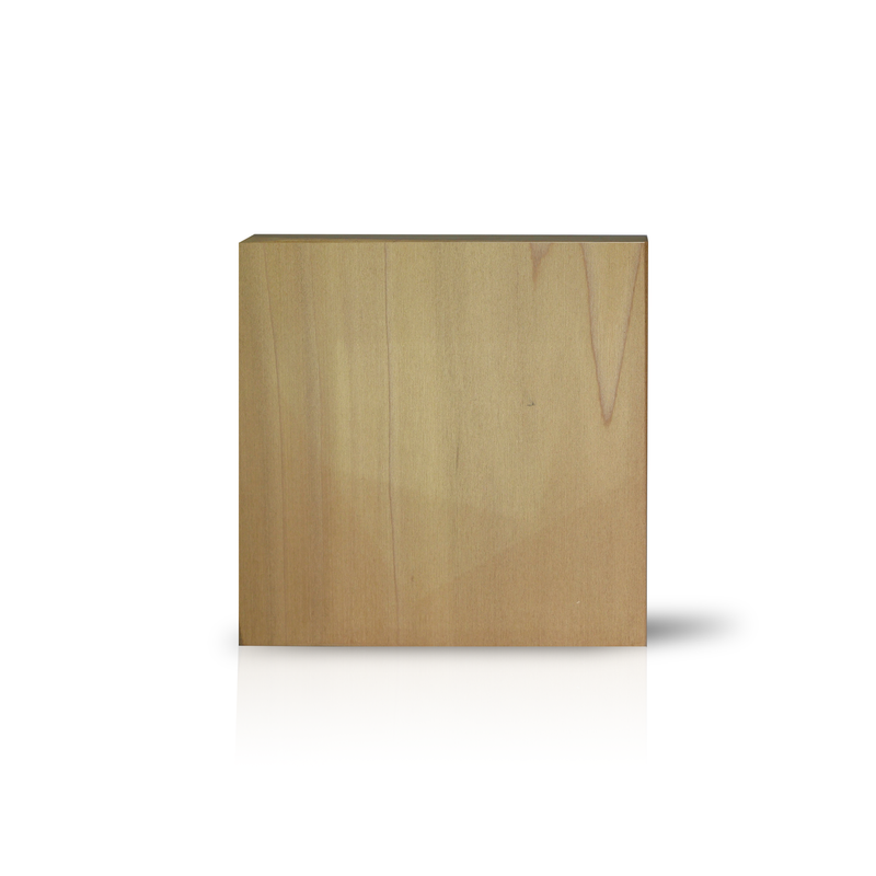 Medium Square Wood Block