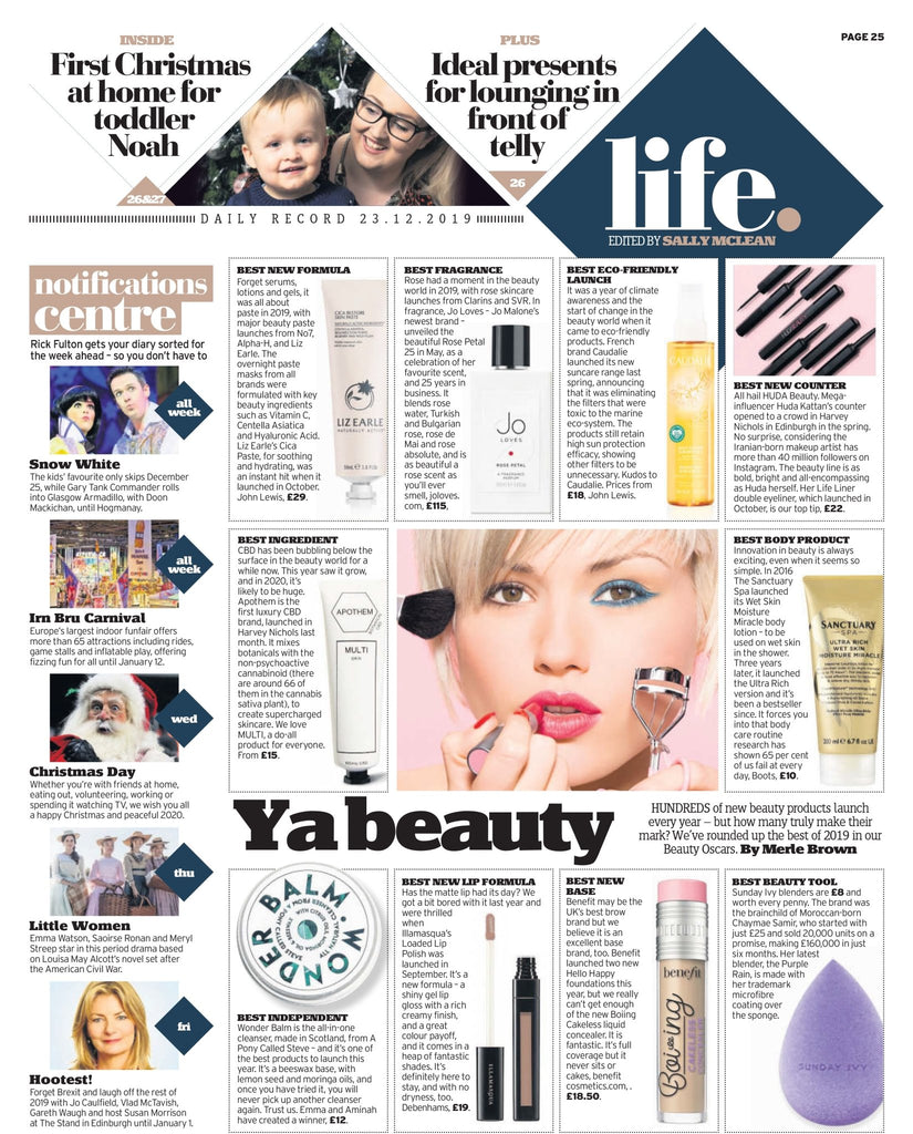 Daily Record | The Clean Beauty Club