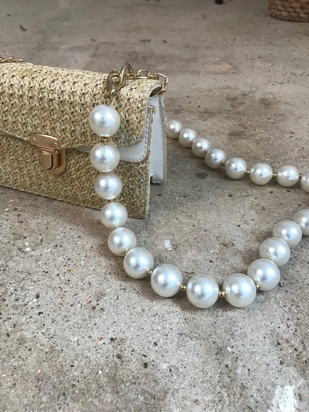 Pearl Bag Strap - Lavand Stories