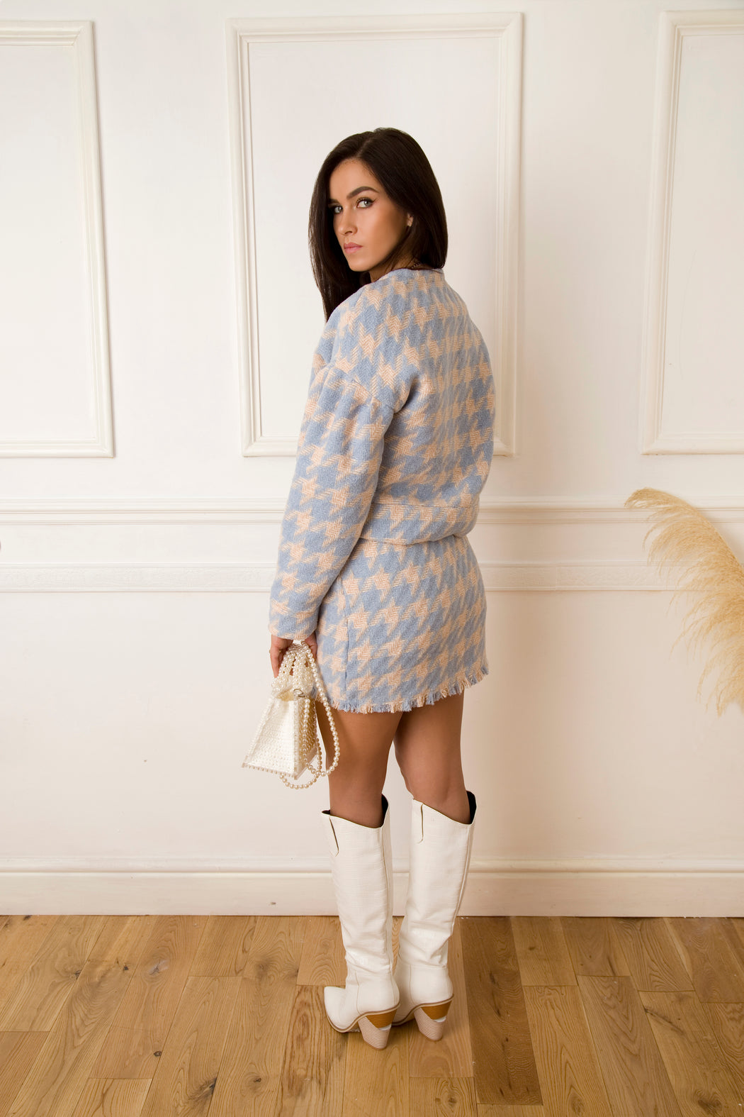 Cher Houndstooth Jacket