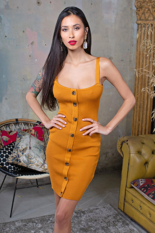 Fawn Bodycon Dress - Lavand Stories