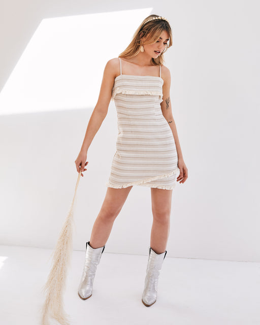 Amelia Mini Fringe Dress - Lavand Stories