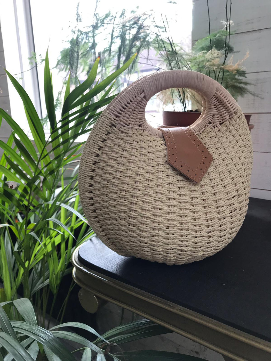 River Shell Wicker Bag - Lavand Stories