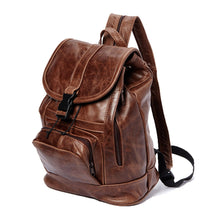 Load image into Gallery viewer, Genuine Leather Backpack with Convertible Strap Super Soft Black Color - WholesaleLeatherSupplier.com  - 7