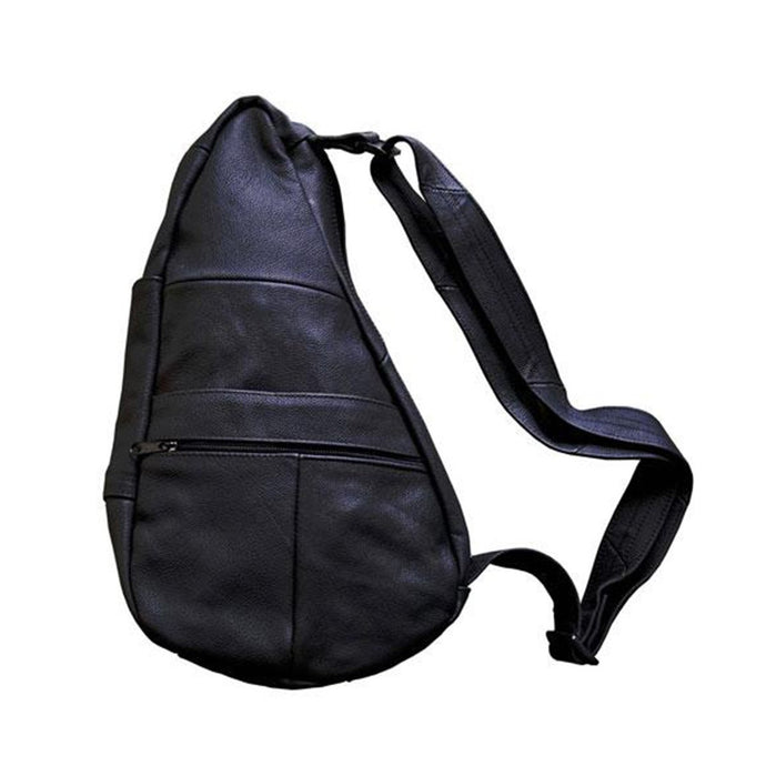 Genuine Leather Backpack - Black - WholesaleLeatherSupplier.com  - 1