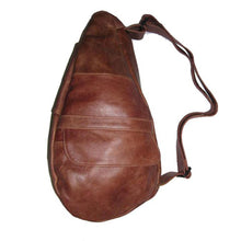 Load image into Gallery viewer, Unisex Genuine Leather Backpack - Brown - WholesaleLeatherSupplier.com  - 1