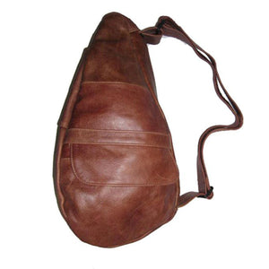 Unisex Genuine Leather Backpack - Tan - WholesaleLeatherSupplier.com  - 2