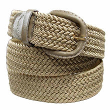 Load image into Gallery viewer, Braided Stretch Belt - WholesaleLeatherSupplier.com  - 19