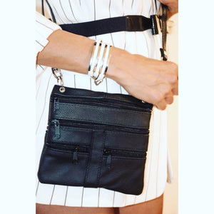Pouch on your Belt Leather Crossbody Bag