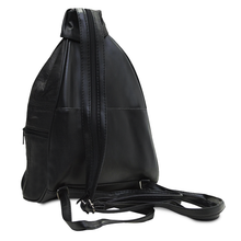 Load image into Gallery viewer, Compact Soft Leather Backpack