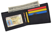 Load image into Gallery viewer, AFONiE Men's Rustic Ichthys Wallet w/ RFID Protection