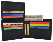 Load image into Gallery viewer, AFONiE Men's Rustic Chicago Stamped Wallet w/ RFID Technology