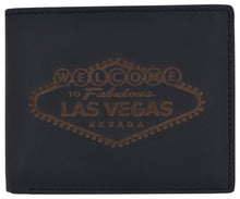 Load image into Gallery viewer, AFONiE RFID Men's Las Vegas Logo Wallet w/ RFID Protection