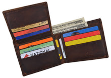 Load image into Gallery viewer, AFONiE Men's Orlando Stamped Wallet w/ RFID Technology