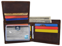 Load image into Gallery viewer, AFONiE Men's Rustic Arizona Wallet w/ RFID Technology