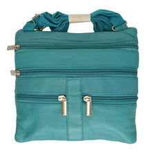 Load image into Gallery viewer, Soft, Thin, Light, Leather Mini Crossbody Purse - WholesaleLeatherSupplier.com  - 39