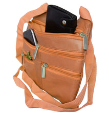 Load image into Gallery viewer, Soft, Thin, Light, Leather Mini Crossbody Purse - WholesaleLeatherSupplier.com  - 25