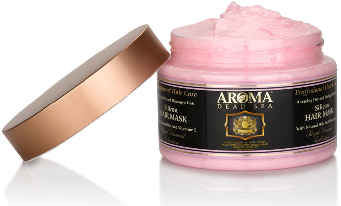 Aroma Dead Sea Silicon Hair Mask 600ml