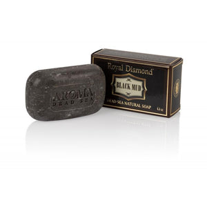 Aroma Dead Sea Royal Diamond Black Mud 4 Soaps kit