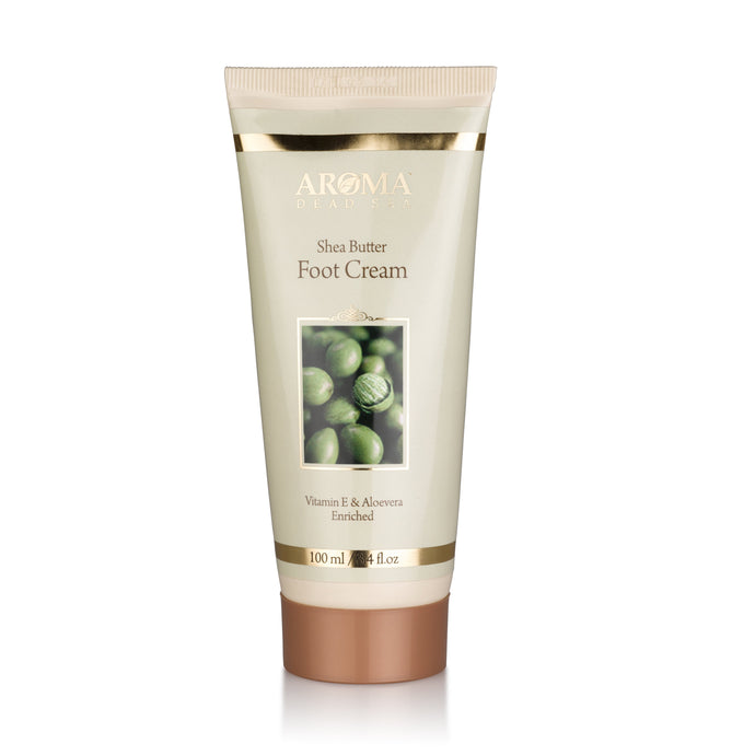 Aroma Dead Sea Shea Butter Foot and Nail Cream 100ml