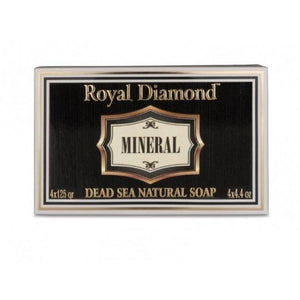 Aroma Dead Sea Royal Diamond Mineral Dead Sea Natural 4 Soaps kit