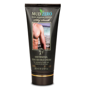 MudZero Dead Sea Hair Removal Cream for Men