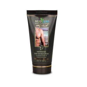 MudZero Dead Sea Hair Removal Cream for Men 50ml