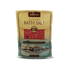 Load image into Gallery viewer, Aroma Dead Sea Bath Salt 300gr Rose