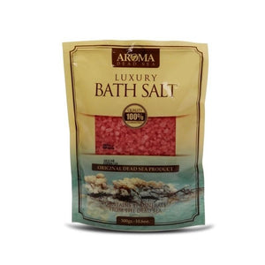 Aroma Dead Sea Bath Salt 300gr Rose