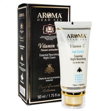 Load image into Gallery viewer, Aroma Dead Sea Vitamin C Nourishing Night Cream 75ml