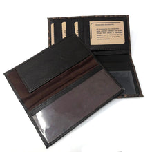 Load image into Gallery viewer, Ostrich Checkbook Handcrafted Wallet