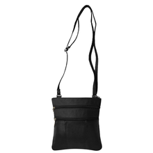Load image into Gallery viewer, Soft Genuine Leather Multi-Pocket Crossbody Bag