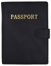 Load image into Gallery viewer, Travel Passport Leather Wallet
