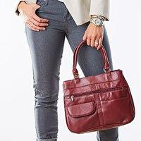 AFONiE™ Fashion Soft Leather Shoulder Handbag