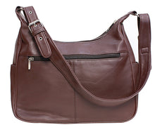 Load image into Gallery viewer, Super-Soft Genuine Lambskin Leather Purse - Brown Color