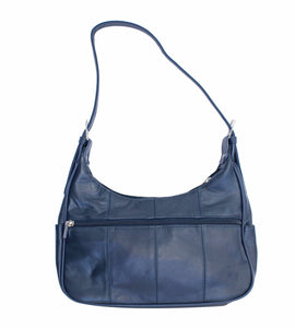 Soft Genuine Leather Shoulder Bag - WholesaleLeatherSupplier.com  - 7