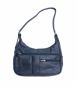 Soft Genuine Leather Shoulder Bag - WholesaleLeatherSupplier.com  - 5