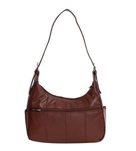Soft Genuine Leather Shoulder Bag - WholesaleLeatherSupplier.com  - 13