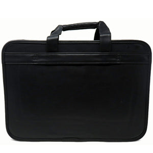 AFONiE Leather Briefcase w/ Laptop Holder
