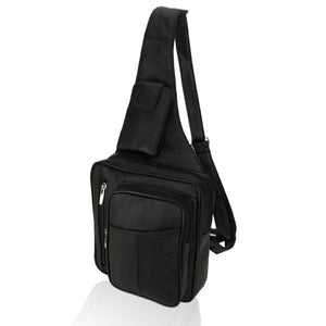 Leather Crossbody Bag - WholesaleLeatherSupplier.com  - 2