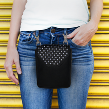 Load image into Gallery viewer, Hip Clip Pearl Studded Purse Pouch