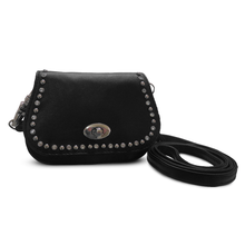 Load image into Gallery viewer, Hip Clip Leather Purse Pouch
