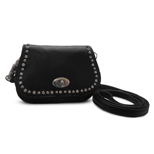 Hip Clip Leather Purse Pouch