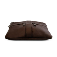 Load image into Gallery viewer, women crossbody messenger handbag brown